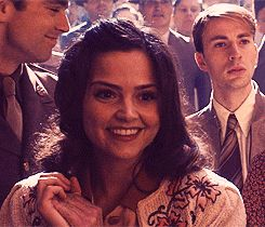 Jenna Coleman Captain America | Jenna-Louise Coleman in Captain America: The First Avenger