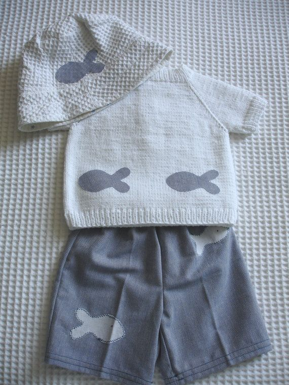 Baby sweater pants and hat set by Hipolita on Etsy