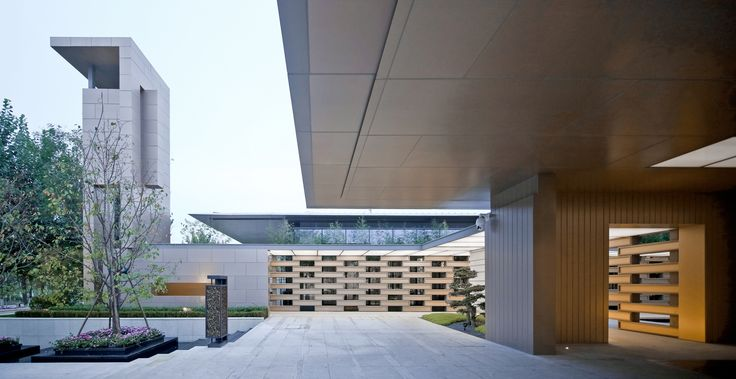 Gallery of Tianjin Luneng Taishan College / Lacime Architectural Design - 2