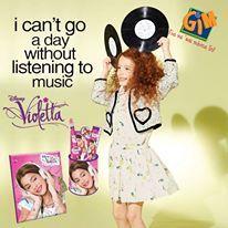 Ημερολόγιο με κλειδί και σετ δώρου (6τμχ) Violetta από τη GIM! Ξεφυλλίστε το νέο μας κατάλογο και δείτε περισσότερα προϊόντα με την αγαπημένη Violetta ->  http://www.gimsa.gr/images/catalogues/school-2015.pdf #gimsa #gianasaipadain #disney #violetta #pink #purple #music