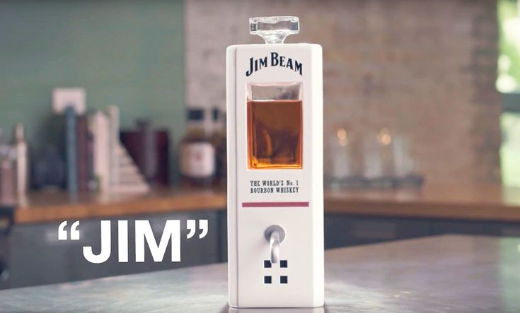 Jim Beam has a smart decanter that responds to voice commands.
