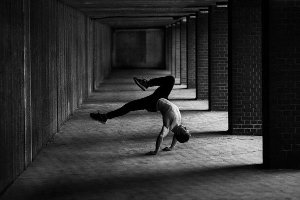 Freerunner is the personal project of world free running champion Tim Shieff and British photographer Pip