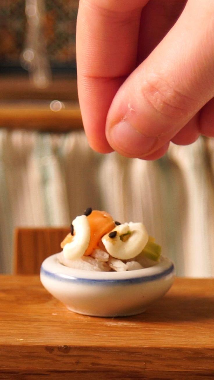 Fun Baking Recipes, Real Food Recipes, Hacks Cocina, Tiny Cooking, Diy Resin Art, Minis, Tiny Food, Miniature Crafts, Food Videos