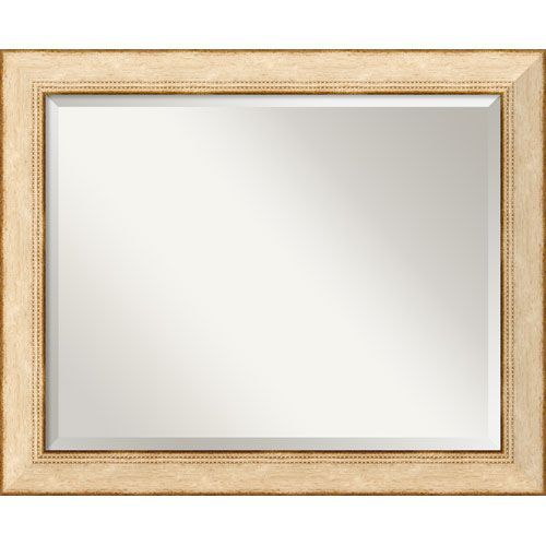 Highland Park Cream Wall Mirror - Large