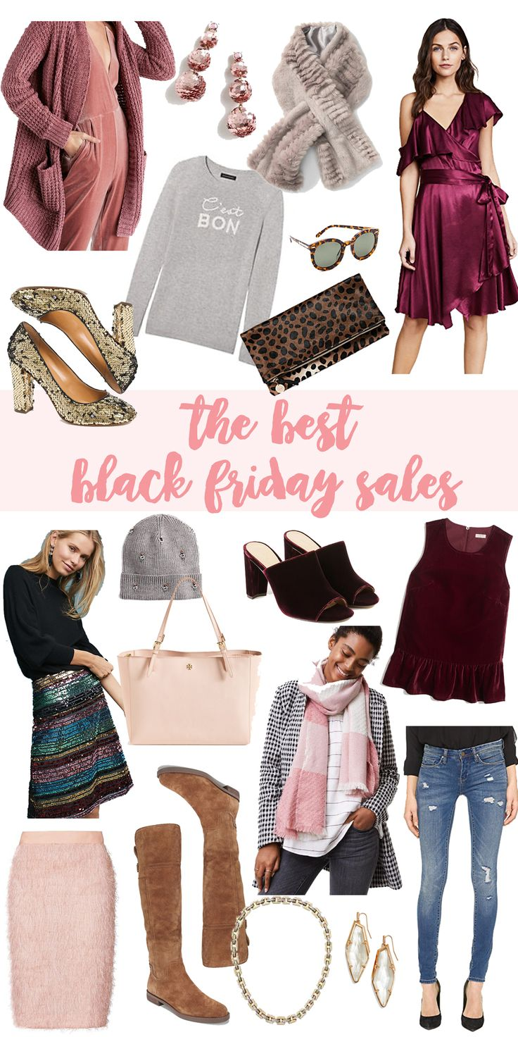 THE BEST BLACK FRIDAY SALES-- all in one place! via Glitter & Gingham
