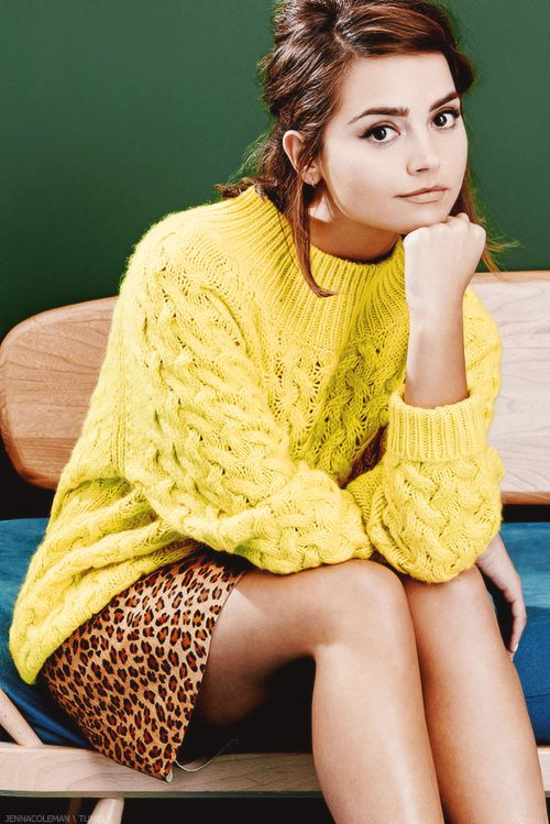 Jenna photographed by Tom van Schelven for Stylist Magazine