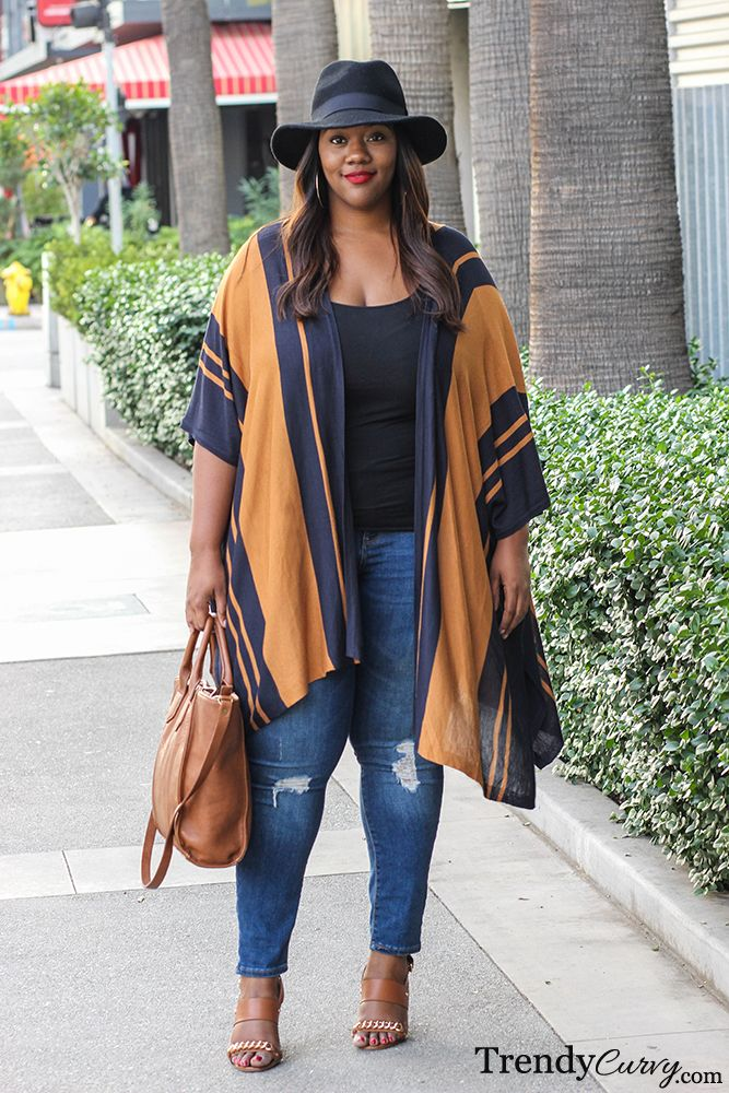 Plus Size Fashion - Poncho