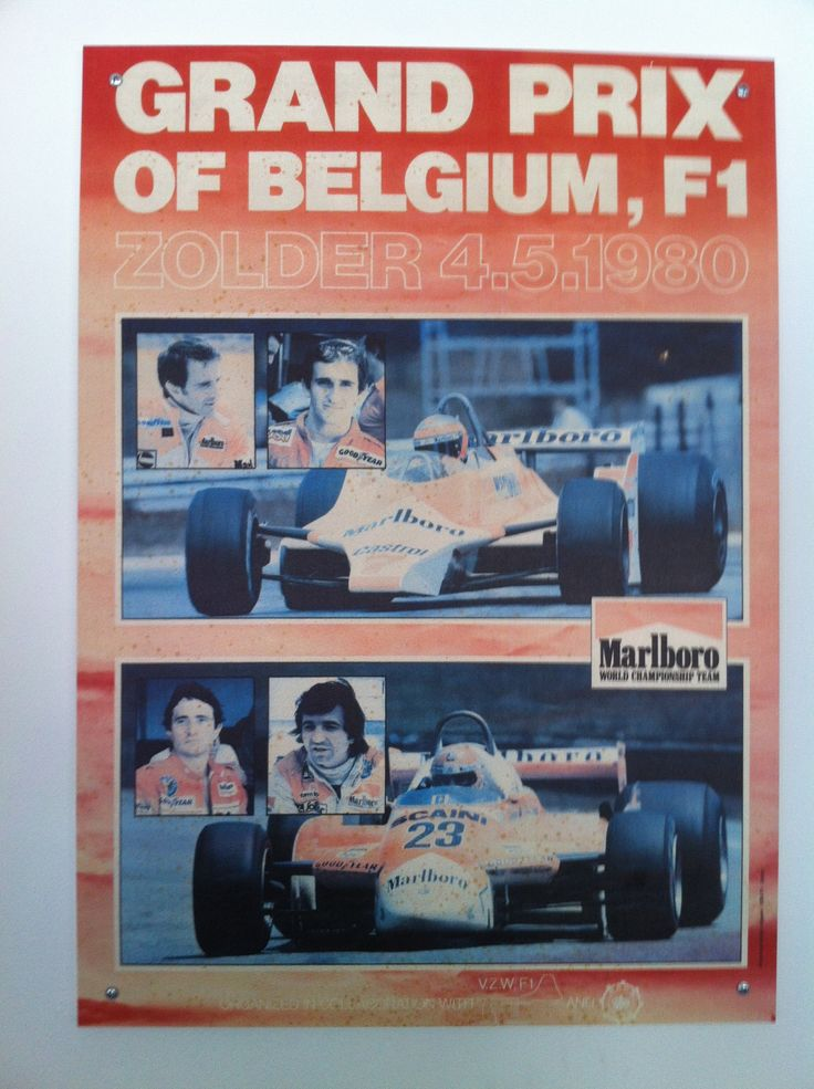 Grand Prix of Belgium, F1 (4 mei 1980)