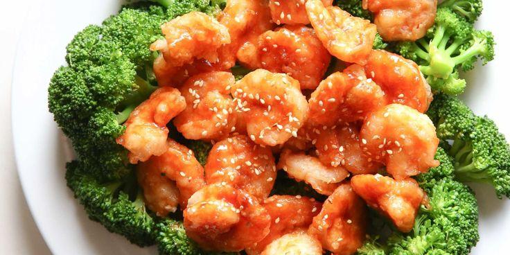 Best General Tso's Shrimp 'n Broccoli Recipe-How To Make General Tso's Shrimp 'n Broccoli—Delish.com