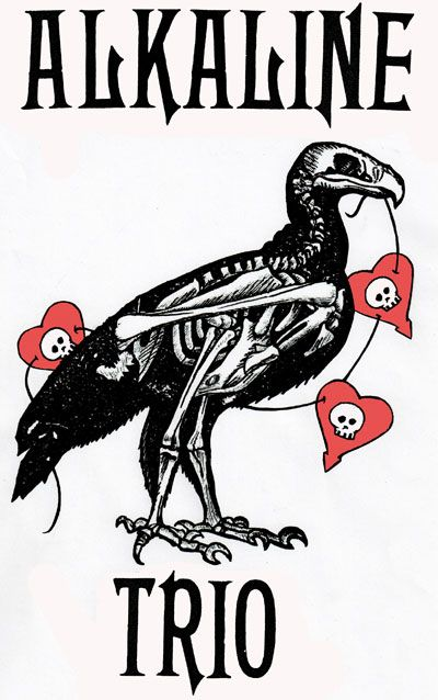 Alkaline Trio... This band is so close to my heart they might as well be singing my soul.