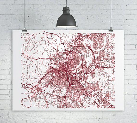 Best 25+ Map Of Nashville Ideas On Pinterest