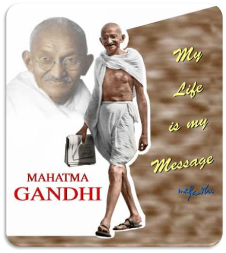 Late Indian Leader Mohandas Karamchand Gandhi commonly known as Mahatma Gandhi. Mahatma Gandhi was born on October 2nd 1869. Let's remember Mahatma Gandhi's birthday with some famous Mahatma Gandhi inspirational quotes.