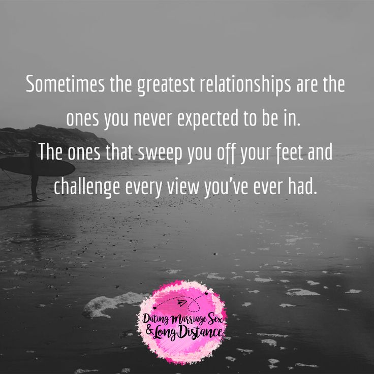 Sometimes the greatest relationships are the ones you never expected to be in.   #quotes #love #relationships