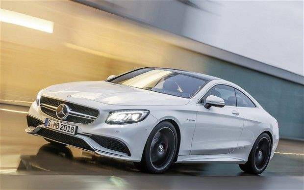 Mercedes reveals S63 AMG Coupé - Telegraph