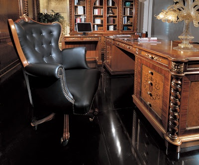 Russian Leather Desk Chair   Amazing Furniture   Pinterest ...