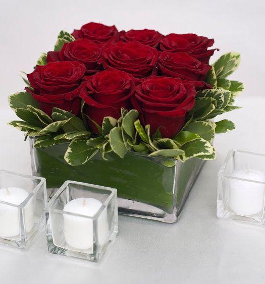 Jardín de rosas