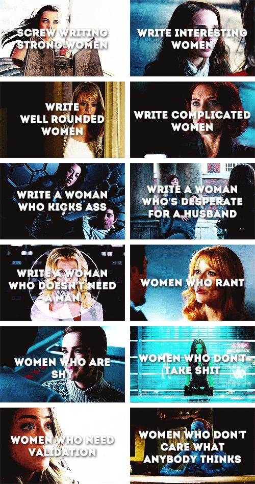 Women shouldn't be valued because we are strong, or kick-ass, but because we are people.  That's why we love Joss Whedon!