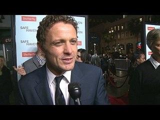 Safe Haven: David Lyons Premiere Interview --  -- http://wtch.it/8QQ7f