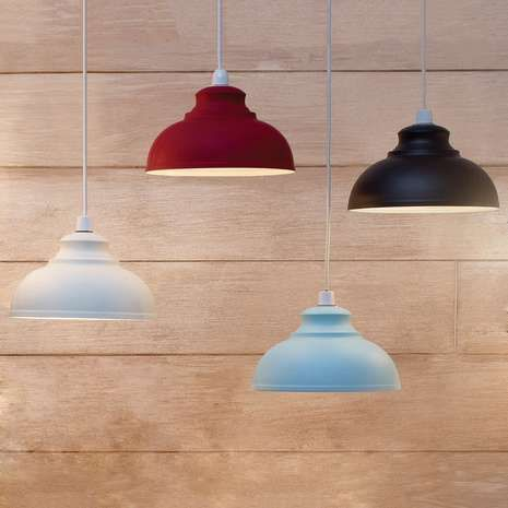 The Galley pendant is a classic shade that will create a statement in your home…