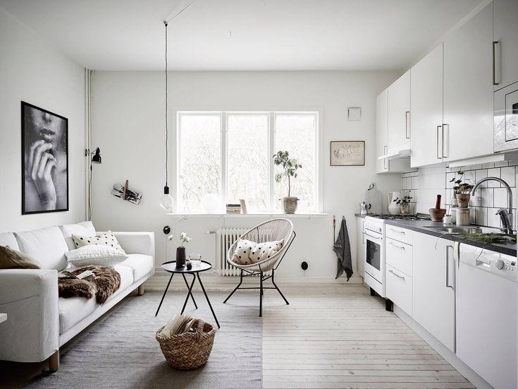 Kombinerat kök och vardagsrum