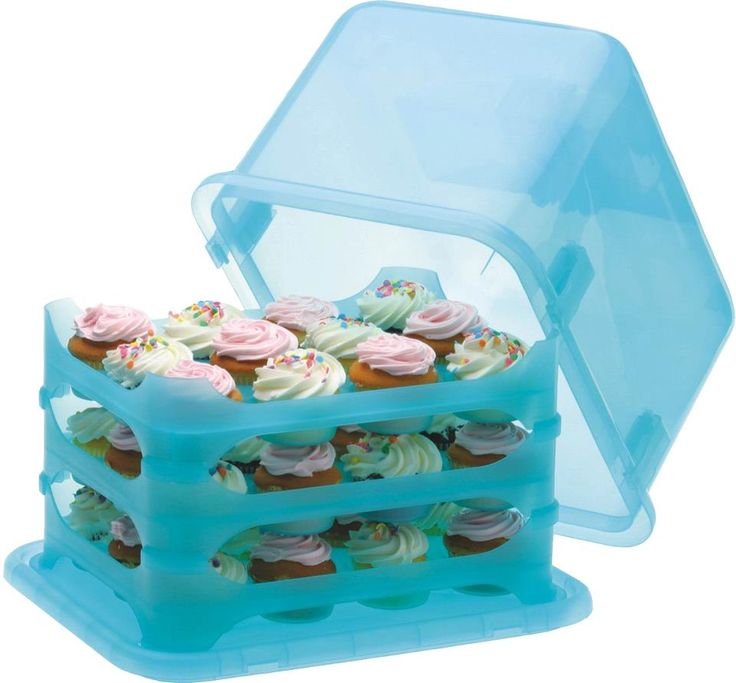 We just received a large shipment of The Cupcake Courier to our warehouse, which is only giving us hunger pangs for delicious cupcakes. Click to shop this product and other baking accessories on our Cupcake Collection page!