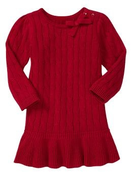 Christmas ruffle dress gap so cute for sophie