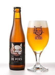 De Poes een Blond bier uit Tielt Belgium.
