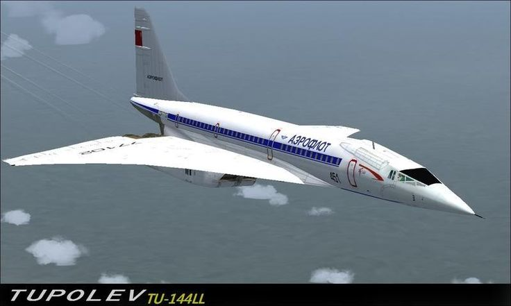 Tupolev ✈ Tu-144