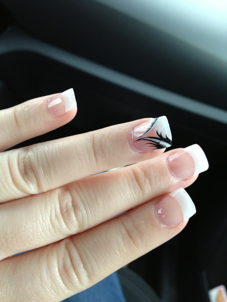 29 best my nails images on pinterest my nails tips and sparkle black and white design prinsesfo Images