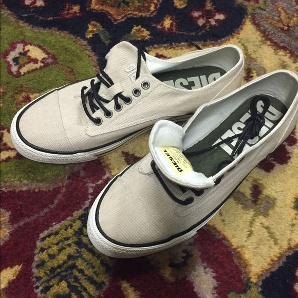 Diesel shoes Never worn new diesel shoes. Size 7-1/2 women. Very nice beach shoe Diesel Shoes Athletic Shoes