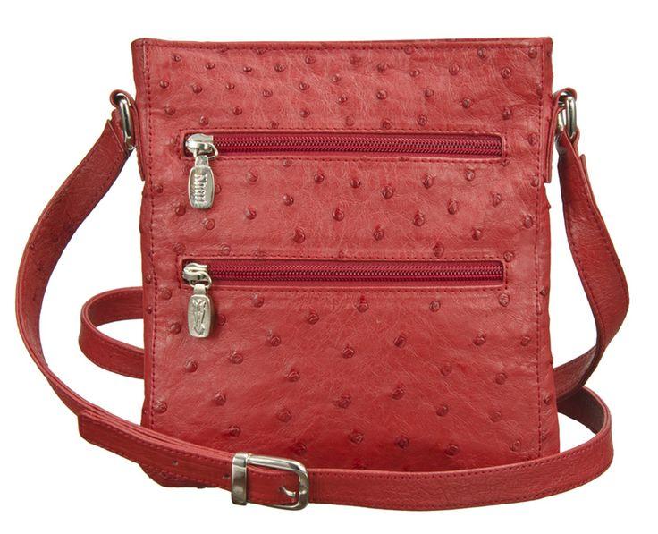 Khari Bag Ravenna / Material Ostrich Leather / Dimensions: w19 x h21 x d2