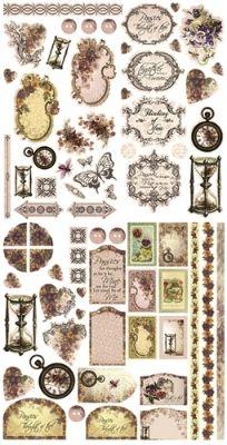 Couture Creations Die Cut Ephemera Pack ~ Hearts Ease | Always Treasured Scrapbooking