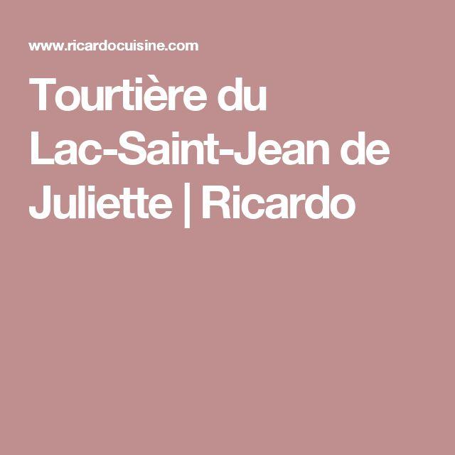Tourtière du Lac-Saint-Jean de Juliette | Ricardo