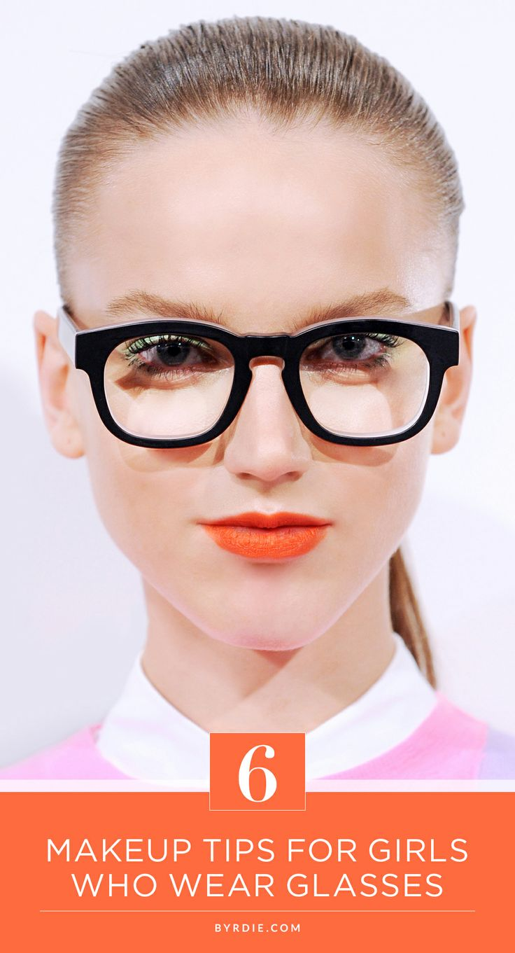6 makeup tips from a celebrity makeup artist for girls who wear glasses #beauty #glasses