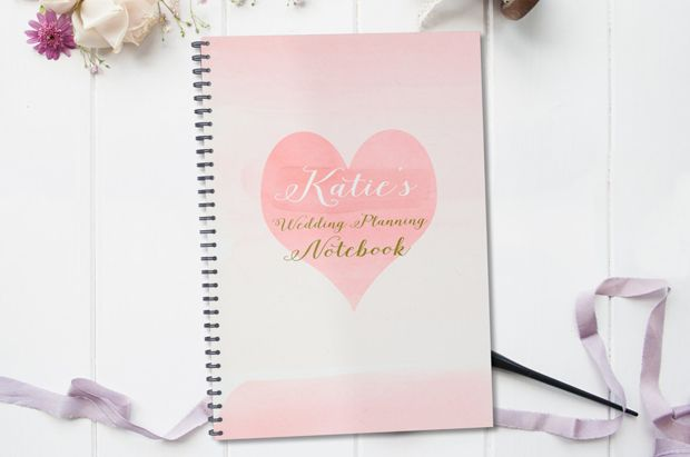 15 fab wedding planning notebooks - to help you get organised!
