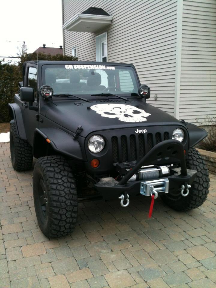 #Jeep Wranlger JK w/ Flat Flares