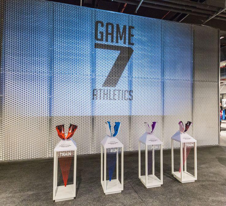 Game 7 Athletics. Shopfittings by Effebi.