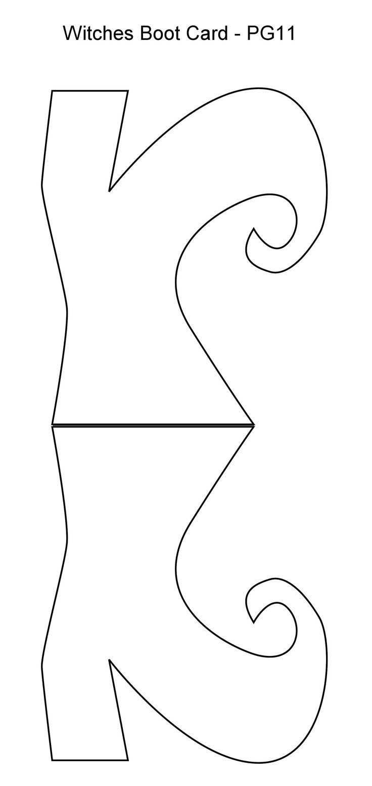 witches shoes coloring pages - photo#18