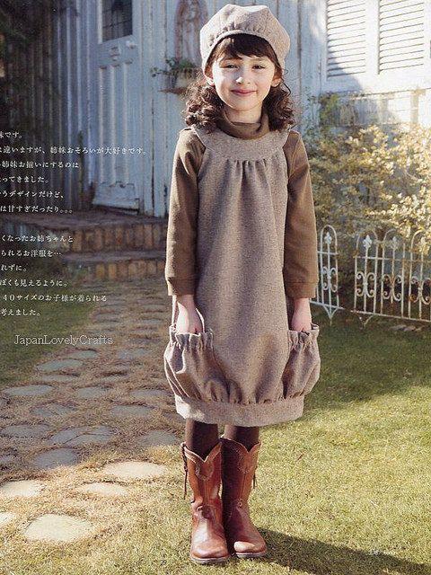 Girly & Sweet Girls Clothes by Yuki Araki - Japanese Sewing Pattern Book for Lovely Girl. $27.50, via Etsy.