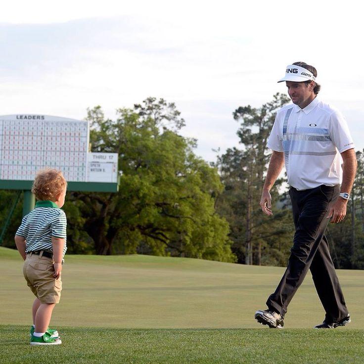 Cuteness alert! Congrats to Caleb's daddy Bubba Watson on winning the 2014 Masters!! #golf4her #GolfDigest