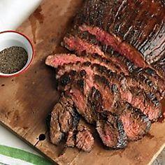 Balsamic Marinated Skirt Steak Recipe | Martha Stewart