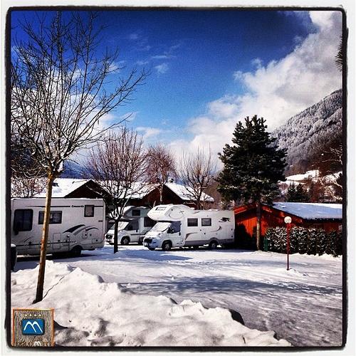 Buongiorno... #neve fresca in #trentino - fresh #snow on the #alps - neu #schnee in #trentino #südtirol