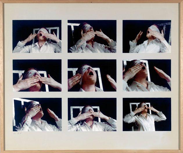 Gina Pane. Action Psyché (Essai), 1974
