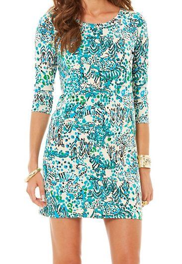 Lilly Pulitzer Corine T-Shirt Dress (Lilly sale, Jan 5, 2015)