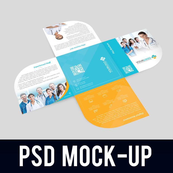 Plus Brochure Mockup  Brochures Mockup And Company Profile