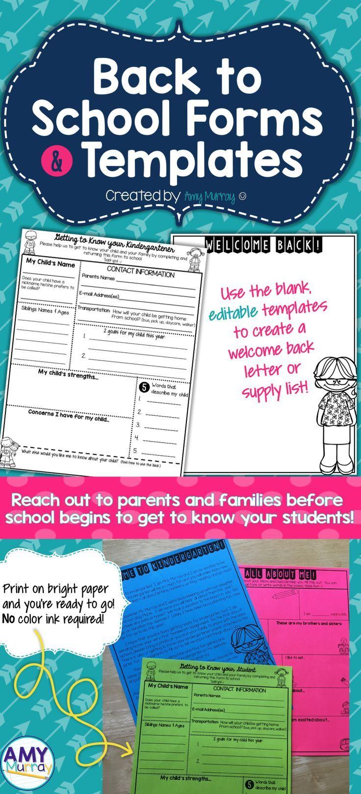 teacher introduction letter template