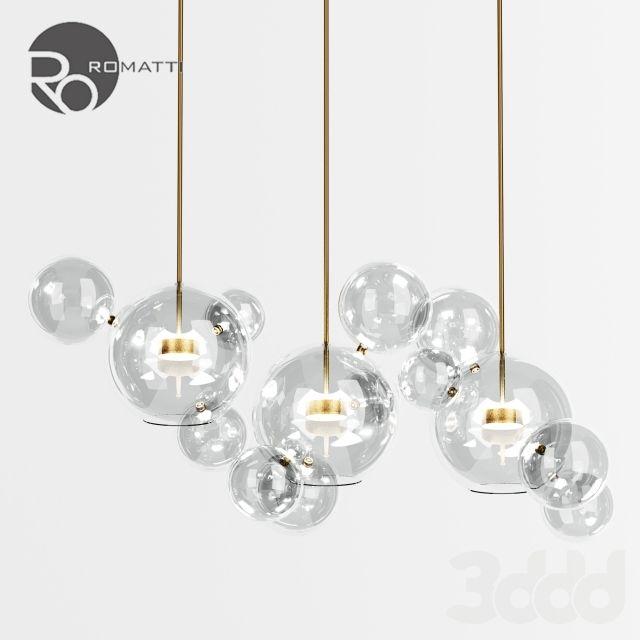 Подвесной светильник Romatti Bolle by Giopato & Coombes