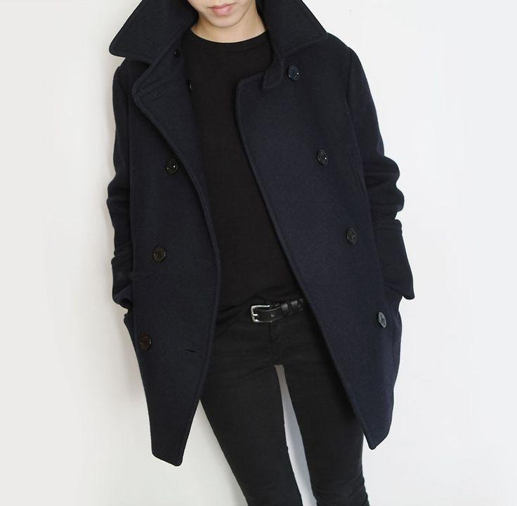 e3efa8e3ba0 Women S Petite Insulated Wool Peacoat.Best 25 Pea Coats Women Ideas ...
