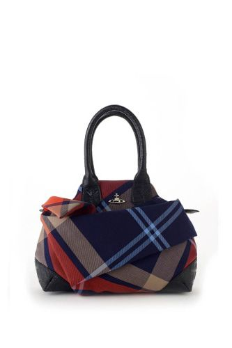 Vivienne Westwood Capri Tartan Bag 6133 Mac Edinburgh, £345, available at Vivienne Westwood