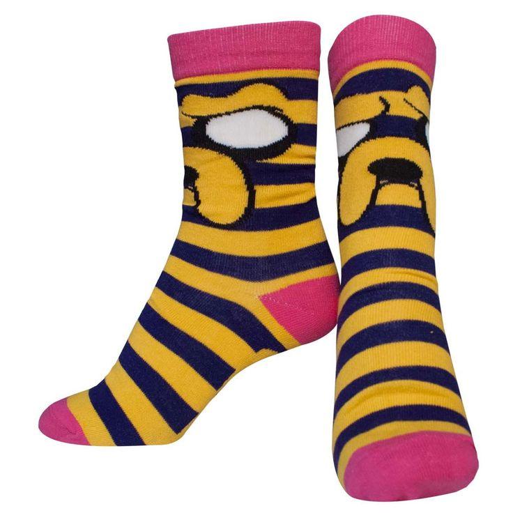 Adventure Time - Jake stevige sokken gestreept multicolours - Merchan